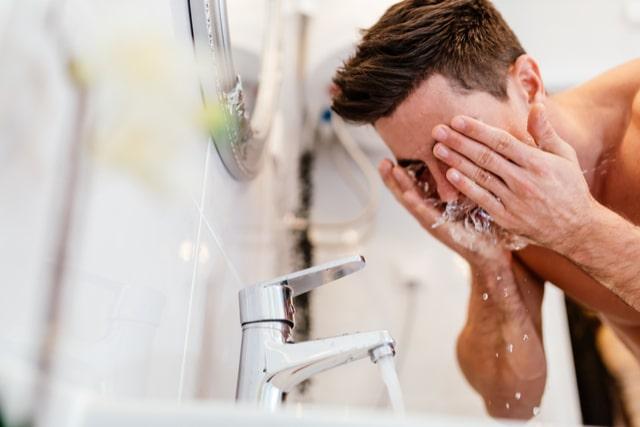 洗顔のしすぎ