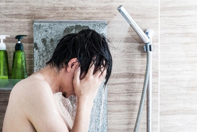 シャワーは1回