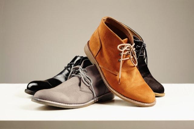 スウェード靴の汚れ