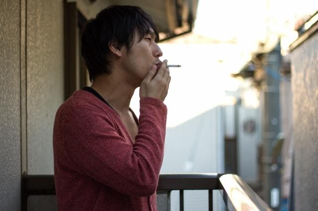 タバコの吸いすぎ